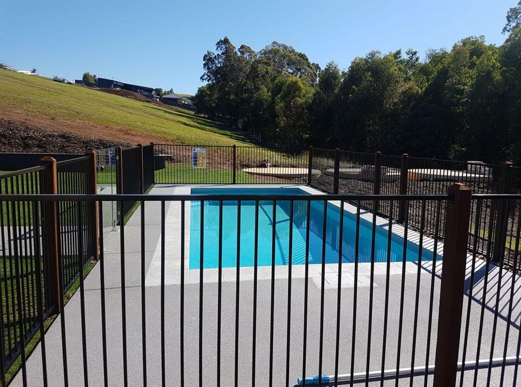 Pool fences sunshine coast caloundra to noosa call for Pool fence design qld
